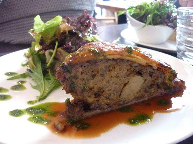 tourte canard foie gras