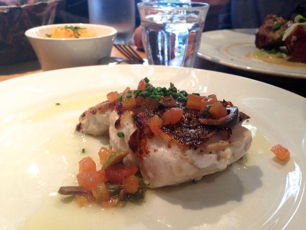 merlu purée de carottes