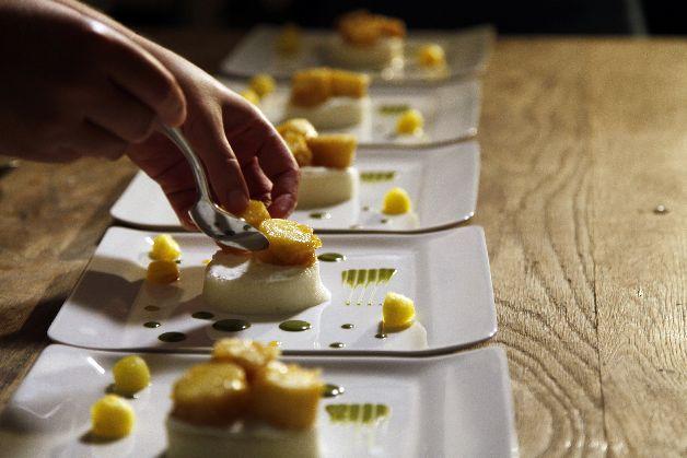 Le dessert Japon Repas de fête