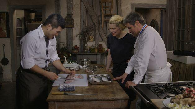 Caroline Mignot, Michel Roth et Daiki Nishio