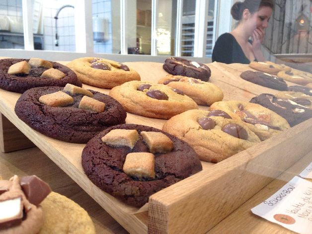 vitrine aguicheuse de scoop me a cookie