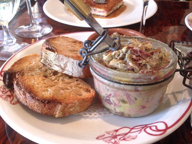 rillettes jarret de porc foie gras