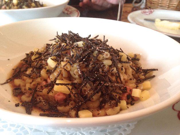 coquillettes truffe