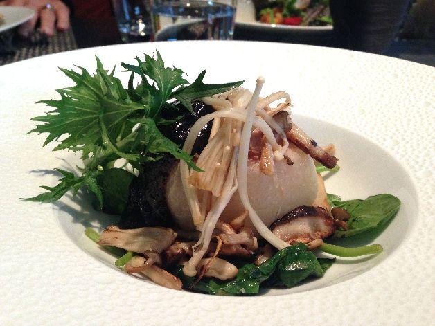 navet veau foie gras et miso