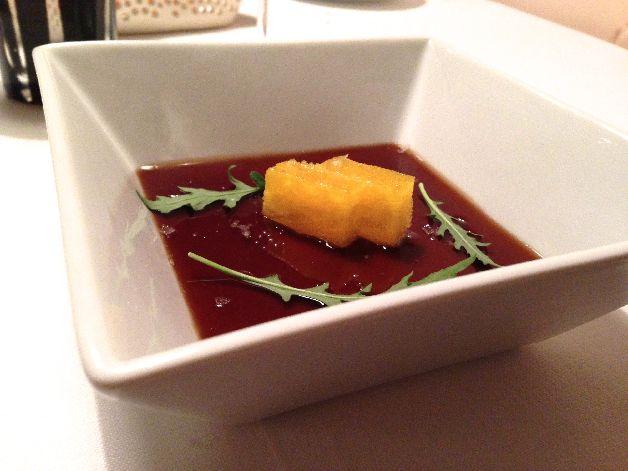 foie gras rhum coca