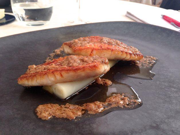 rouget vinaigrette foie rech