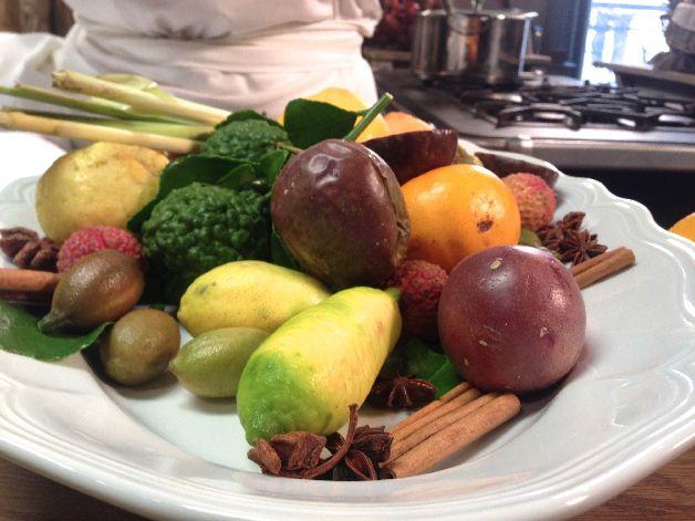 fruits exotiques repas de fete