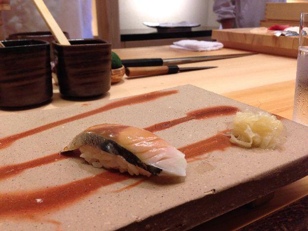 maquereau sushi okuda