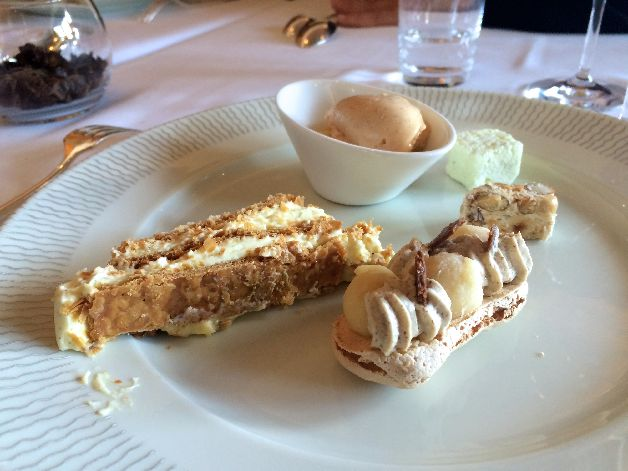 desserts olivier roellinger coquillage