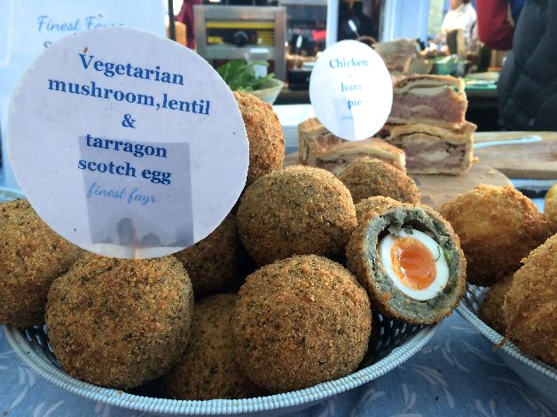 scotch egg broadway market londres