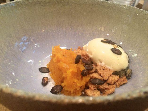 courge dessert clover