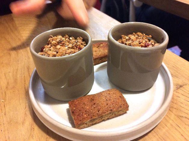 crème granola le kitchen café lyon