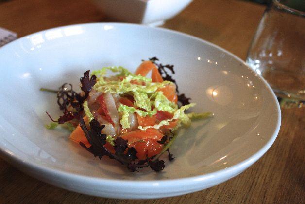 Salade de bar ratapoil du faubourg paris