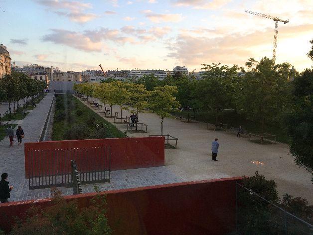 vue coretta parc martin luther king paris