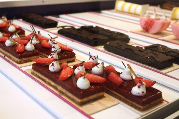 tarte aux fraises patisserie jean francois foucher deauville