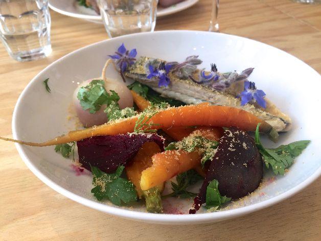 maquereau legumes sauvage paris