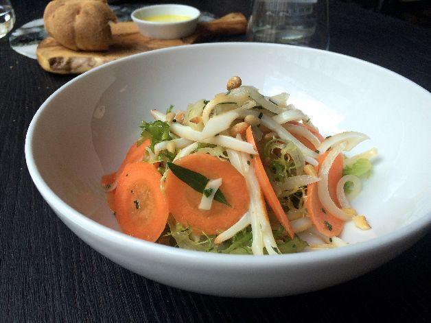 salade de calamar mauro colagreco grand coeur paris