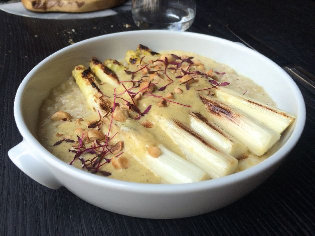 asperges orsotto mauro colagreco grand coeur paris