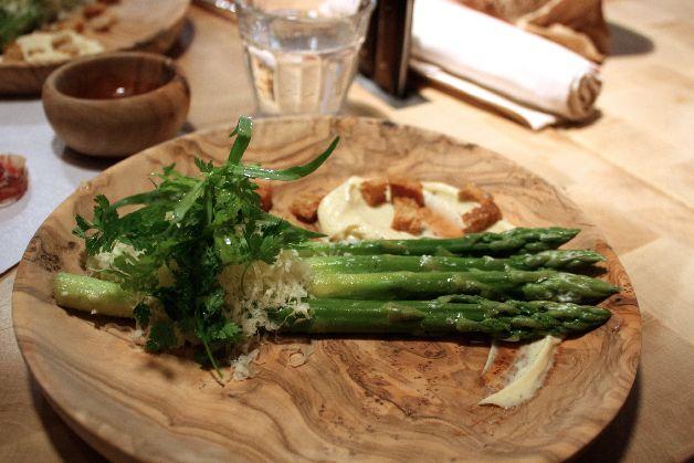 asperges vertes mayonnaise atelier vivanda paris
