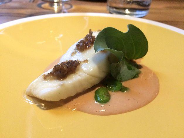turbot foie gras yamtcha paris