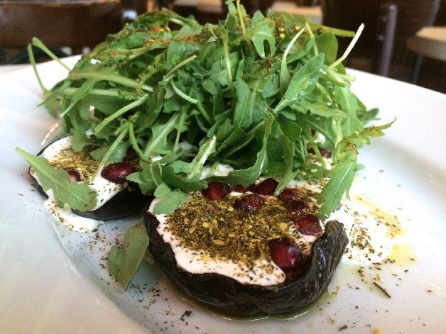 aubergine merguez & pastrami paris