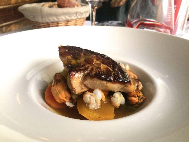 foie gras poele le belisaire paris