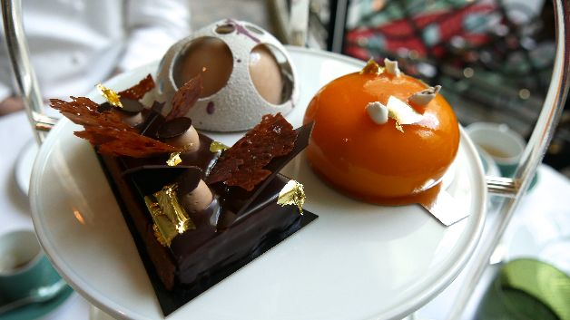 entremets vegan tea time shangri la paris