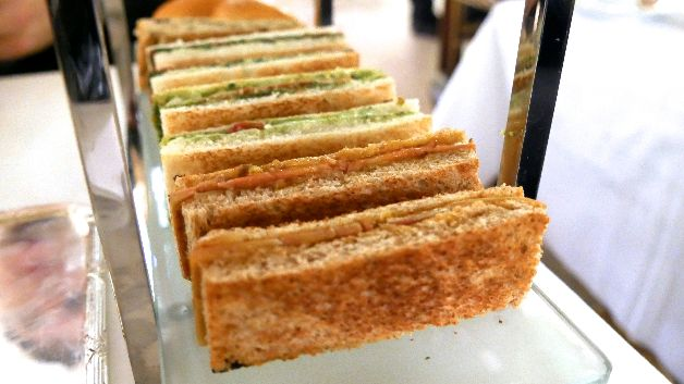 sandwichs tea time Meurice Paris