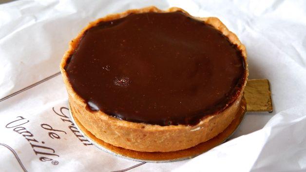 Tarte au chocolat Grain de Vanille Cancale