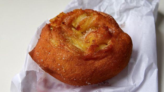 Beignet à la pomme, Boulangerie du Métro, Paris 20