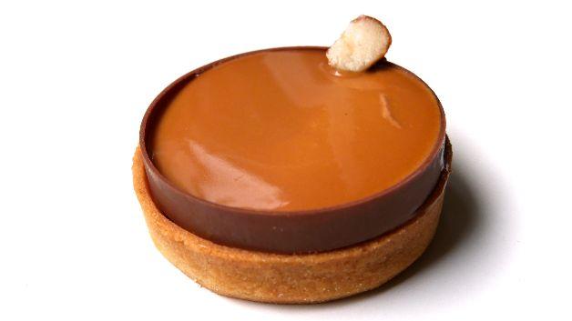 Dessert caramel Kevin Lacote Paris