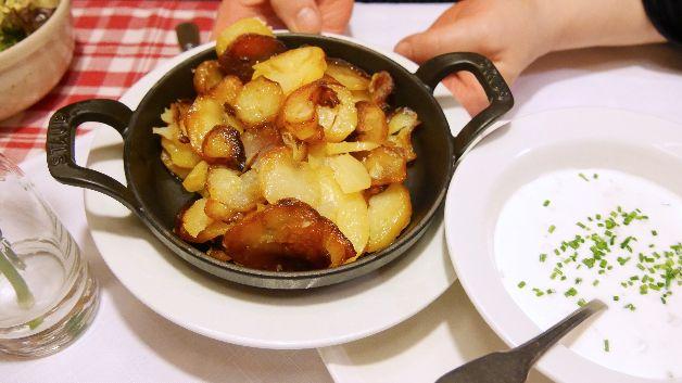 Pommes de terre, Caveau Morakopf, Alsace